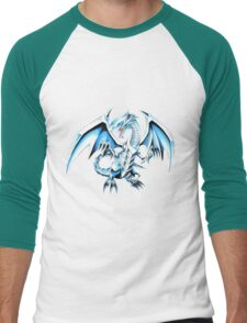 There be dragons Men's Baseball ¾ T-Shirt