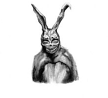 Frank from Donnie Darko by Claire Hawken