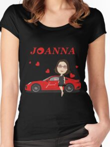 porsche turbo 911 Joanna Women's Fitted Scoop T-Shirt