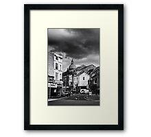 Blackpool-Street Framed Print