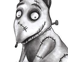 Sparky from Frankenweenie by clairehawken
