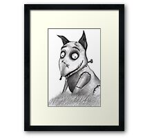Sparky from Frankenweenie Framed Print