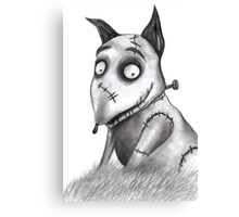 Sparky from Frankenweenie Canvas Print
