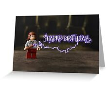 Harry Potter (Hermione) themed Birthday Card Greeting Card
