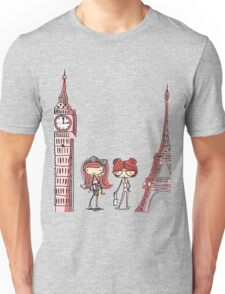 London Paris 578 Unisex T-Shirt