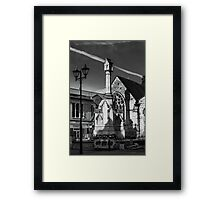 Lincoln-St Benedict's church Framed Print