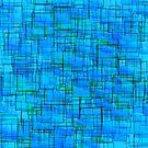 Blue Maze  by Marie Sharp