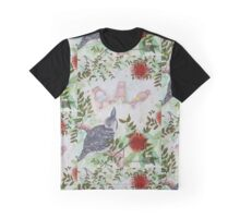 Kookaburra with Meditation Bears Graphic T-Shirt