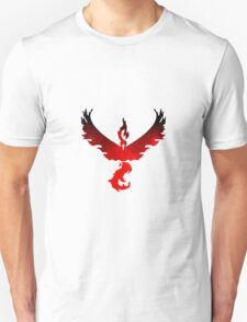 Team Moltres/Valor (2) Unisex T-Shirt