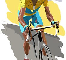 Maillot Jaune by Andy Farr