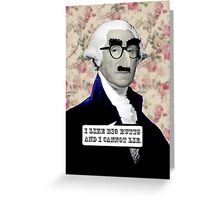 Washington got Back Greeting Card
