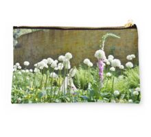 Wall and Wild Flowers Studio Pouch