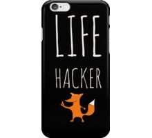 Foxy Life Hack iPhone Case/Skin