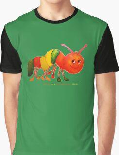 Happy Caterpillar  Graphic T-Shirt