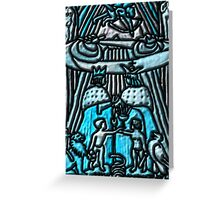 Tarot 6.- The Lovers Greeting Card