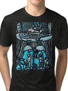 Tarot 6.- The Lovers Tri-blend T-Shirt