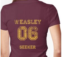GINNY #06 seeker. Womens Fitted T-Shirt