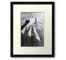 Playful Nostalgia Framed Print