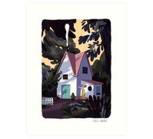 Lil' House Art Print