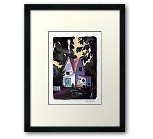 Lil' House Framed Print