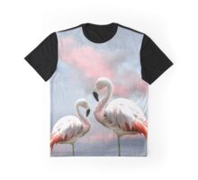 Flamingo Sky Graphic T-Shirt