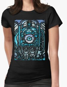 Tarot 7 .- The Chariot Womens Fitted T-Shirt
