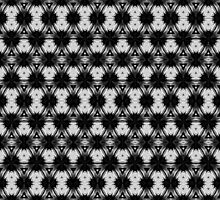 Black and white pattern on gifts by PatternedArt
