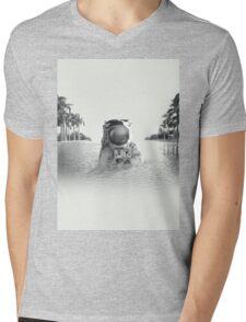 Astronaut Mens V-Neck T-Shirt