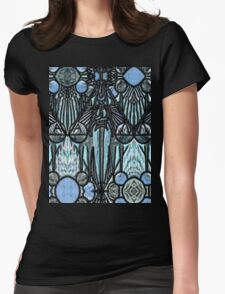 Tarot 8.- The Adjustment Womens Fitted T-Shirt