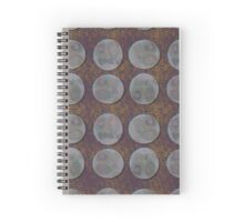 petri dish with mould Spiral Notebook