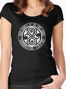 Doctor Who - High Council of the Time Lords - Gallifrey Women's Fitted Scoop T-Shirt