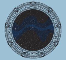 Stargate (black) One Piece - Short Sleeve