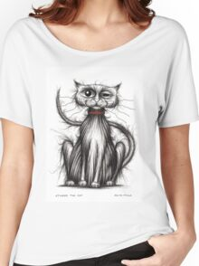 Stinkert he cat Women's Relaxed Fit T-Shirt