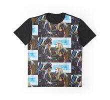 Clarke and Lexa - Clexa The 100 Graphic T-Shirt