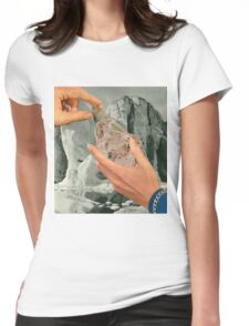 Crystal Mountain Womens Fitted T-Shirt