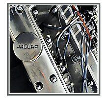 XK Engine Photographic Print