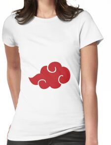 Akats cloud Womens Fitted T-Shirt