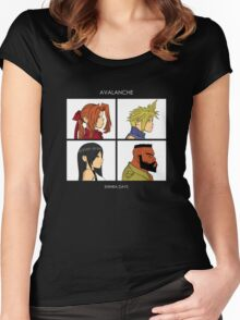 Shinra Days Women's Fitted Scoop T-Shirt