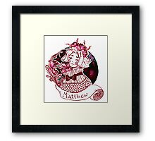 little Matthew - aph Canada Framed Print