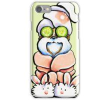 Shih Tzu Spa Day iPhone Case/Skin