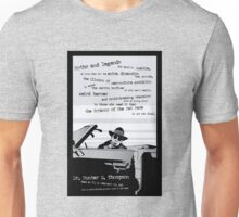 Hunter S. Thompson - Last Outlaw Unisex T-Shirt