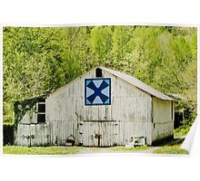 Kentucky Barn Quilt - Windmill Poster