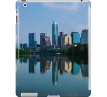 Austin Skyline a Green Reflection iPad Case/Skin