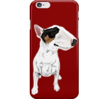 Johnny Cash Bull Terrier  iPhone Case/Skin