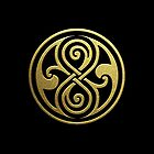 Gold Seal Of Rassilon by Ged J