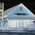Gas station Alabama by Carlos Acosta
