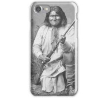 Geronimo Native American Tribe Leader iPhone Case/Skin