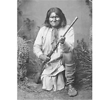 Geronimo Native American Tribe Leader Photographic Print