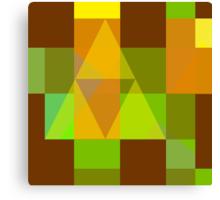 Sprite Fractal - Link Canvas Print