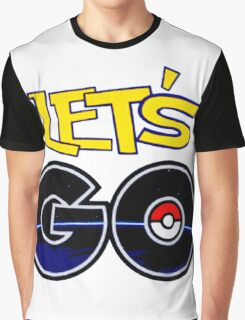 funny tshirt poke, let's go Graphic T-Shirt